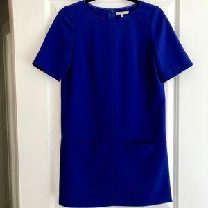 BROADWAY & BROOME (MADEWELL) Blue Shift Dress